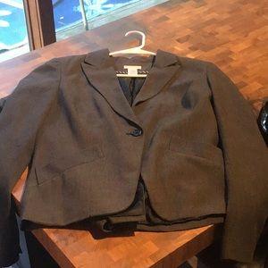 Worthington gray pants suit